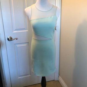 Sea Foam Green Mini Dress Size M